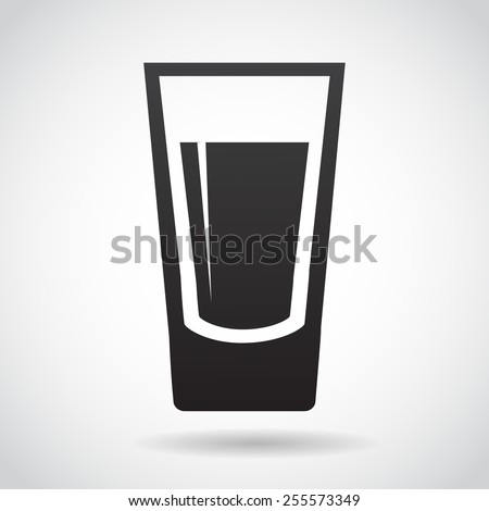 shot glass icon isolated on white stock photo photo vector rh shutterstock com glass victoria texas glass victorian greenhouse