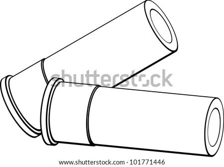 Shotgun Shells Stock Vector 101771446 - Shutterstock