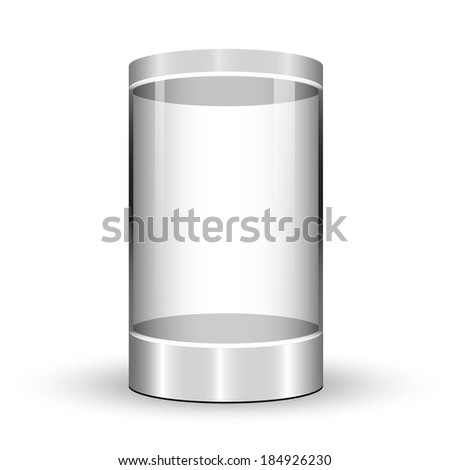 showcase  - stock vector