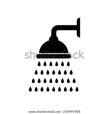 Shower Icon Vector Shower Icon Vector