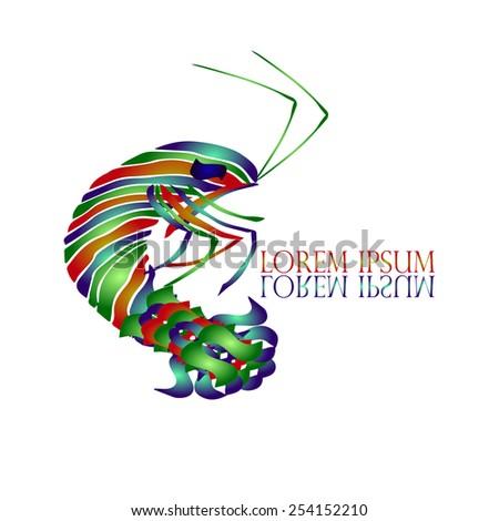 Shrimp Logo Vector Shrimp Logo Vector Design