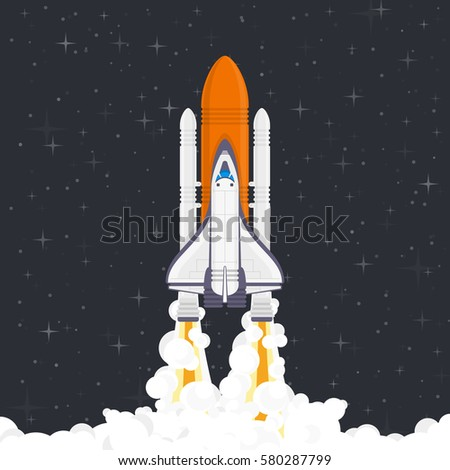 space shuttle rocket start - photo #40