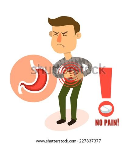 stomach ache stock images, royalty-free images & vectors, Skeleton