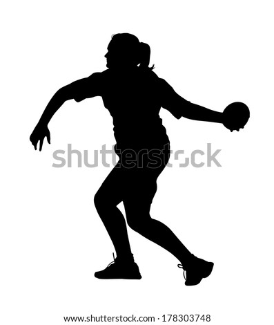 discus silhouette - photo #12