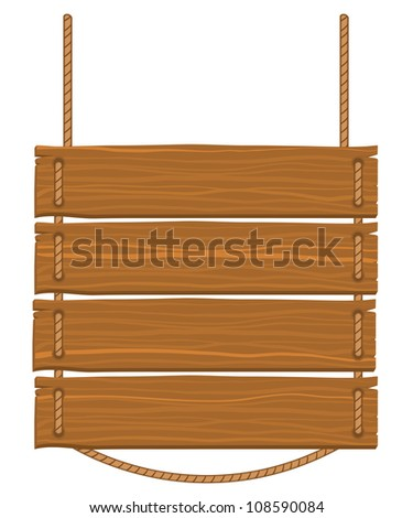 Sign board vector illustration