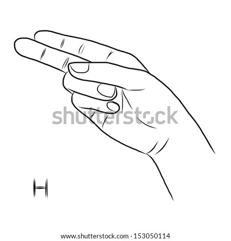 H In Sign Language Sign language and the alphabet