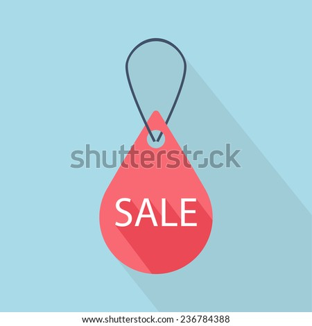 Sign New label. Vector illustration - stock vector