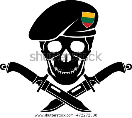 sign of special forces of Lithuania