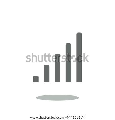 signal icon - stock vector