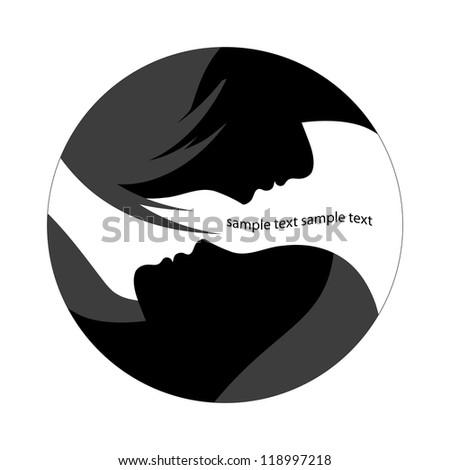 silhouette - stock vector
