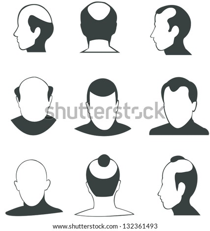 Baldheaded Stock Images RoyaltyFree Images Vectors Shutterstock - Bald hairstyle quotes