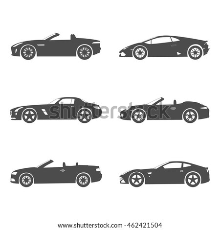 silhouette cport car set