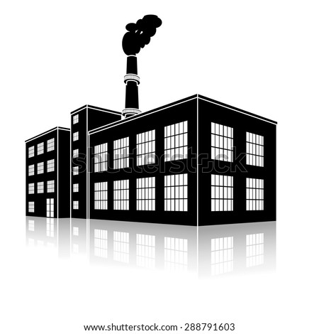 Factory Silhouette Stock Images, Royalty-Free Images ...