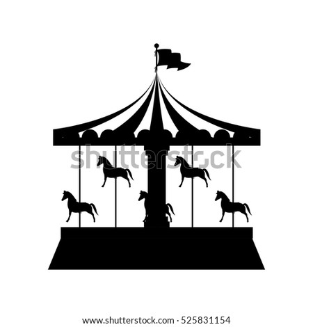 Merry go round stock images royalty free images vectors for Merry go round horse template