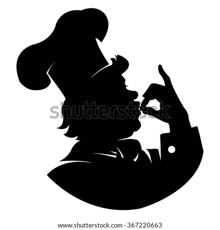 Chef Silhouette Stock Images, Royalty-Free Images ...
