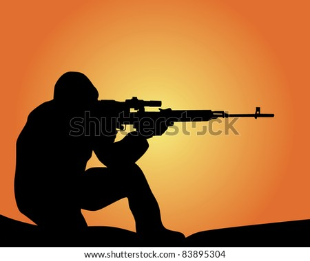 Sniper Stock Photos, Sniper Stock Photography, Sniper ...