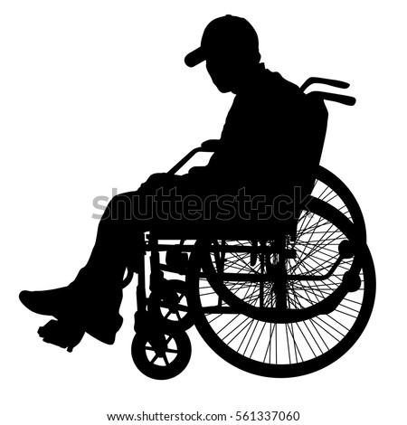 Wheelchair Silhouette Stock Images, Royalty-Free Images ...