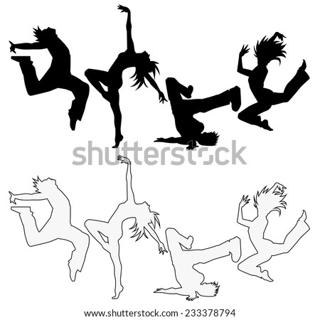 Silhouette of the dance (Simple)