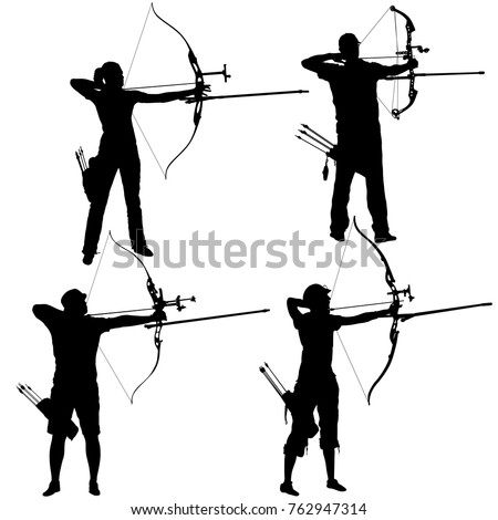 Archery Bow Silhouette
