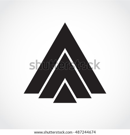 pyramid logo stock images royaltyfree images amp vectors
