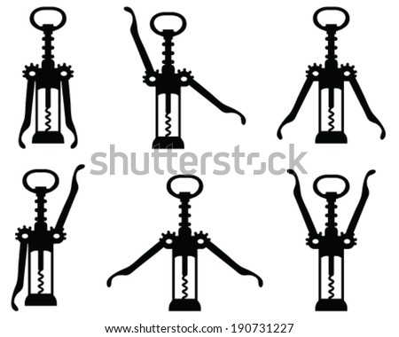 wine corkscrew stock images royalty free images vectors shutterstock. Black Bedroom Furniture Sets. Home Design Ideas