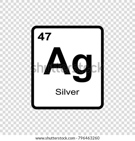 Silver chemical element sign atomic number stock vector 796463260 silver chemical element sign with atomic number chemical element of periodic table urtaz Image collections