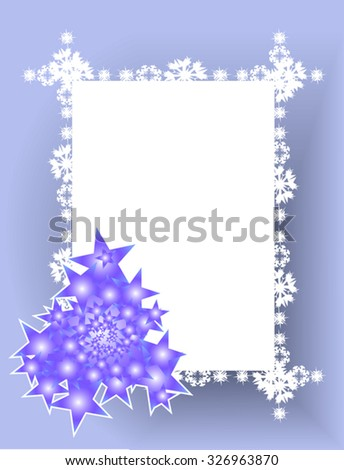 Silver Christmas background with shiny 