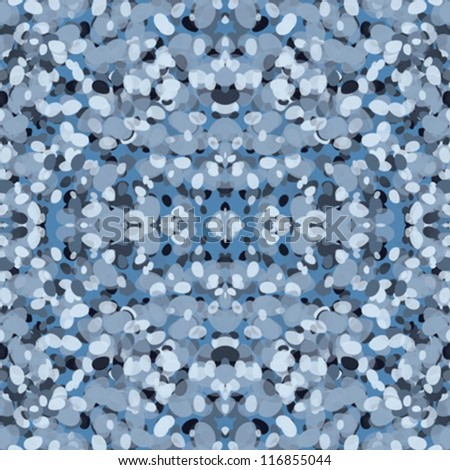 Silver fabric made of a grid of sparkling sequins. Turquoise blue color glitter texture background. - stock vector