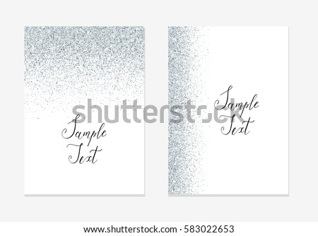Silver glitter holiday design background sparkle stock vector silver glitter holiday design background sparkle stock vector 583022653 shutterstock stopboris Images