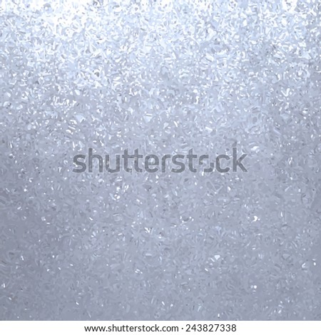 Silver glitter metal textured background. Traced vector abstract illustration, eps10. Design card with sparkles.  - stock vector