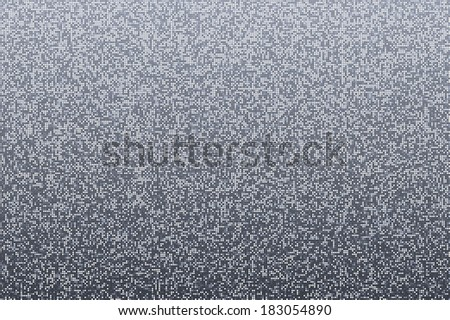 Silver gray seamless shimmer background with shiny round paillettes. Sparkle glitter techno background .Gray Technology Background, vector illustration - stock vector