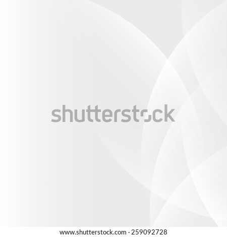 Silver light gradient abstract background - stock vector