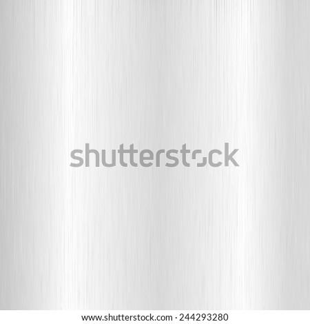 Silver metallic texture for background,Vector illustration - stock vector