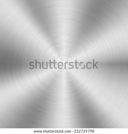 silver plate background(vector) - stock vector