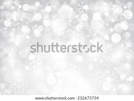 Silver shiny background - stock vector