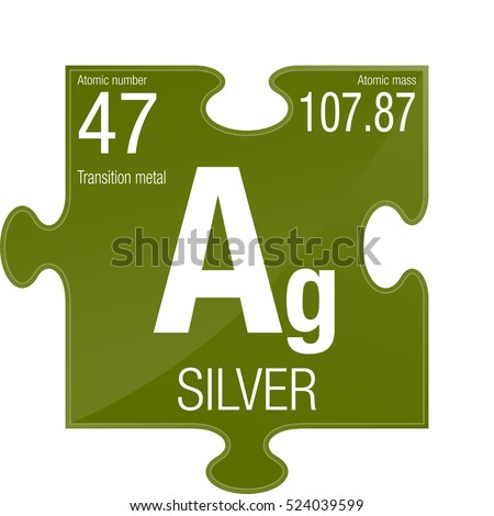 Silver symbol element number 47 periodic stock vector 524039599 silver symbol element number 47 of the periodic table of the elements chemistry urtaz Image collections