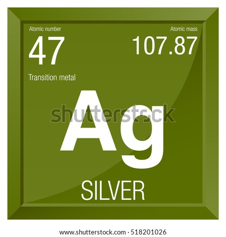 Silver symbol element number 47 periodic stock photo photo vector silver symbol element number 47 of the periodic table of the elements chemistry urtaz Choice Image