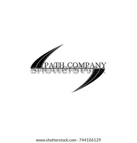 Simple Amazing Company Logo Stock Vector 744106129 Shutterstock