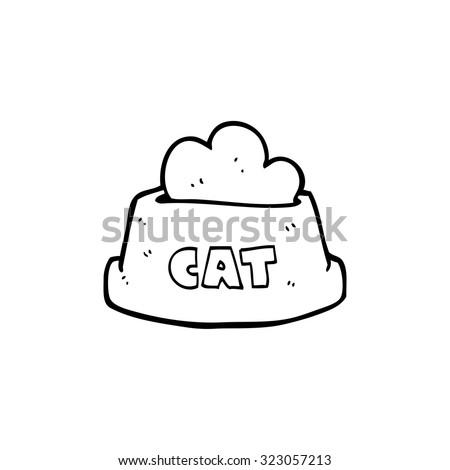 Cat Food Bowl Stock Images Royalty-Free Images U0026 Vectors   Shutterstock