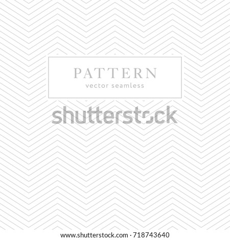 Simple Chevron Seamless Pattern Light Collection Stock Vector ...
