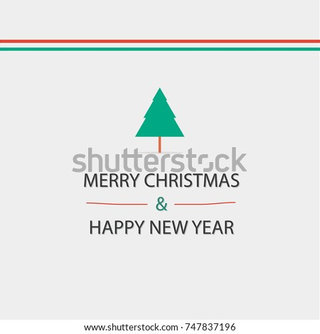 Simple christmas greetings convey love warmth stock vector 747837196 simple christmas greetings convey love warmth and happiness m4hsunfo