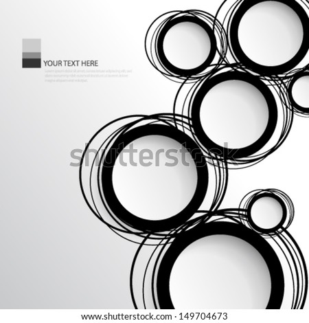 how to call a circle with layers of repeating patterns