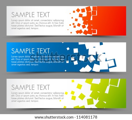 Horizontal Banner Stock Images, Royalty-Free Images & Vectors ...