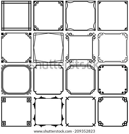 simple frame border design.  Border Simple Frames Set 3 With Frame Border Design R