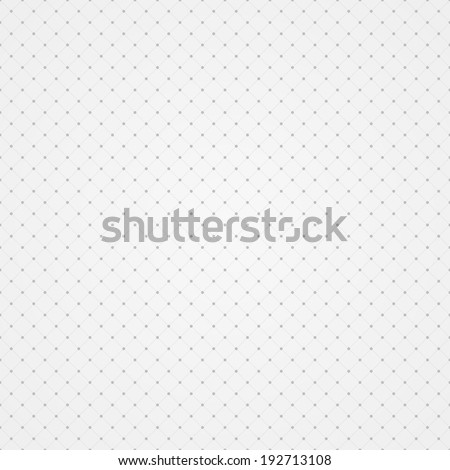 Simple geometric monochrome pattern, seamless vector background - stock vector