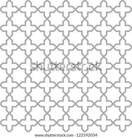 Simple geometric pattern - seamless vector texture - stock vector