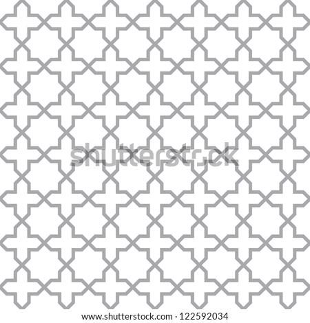 Simple geometric pattern - seamless vector texture - stock vector