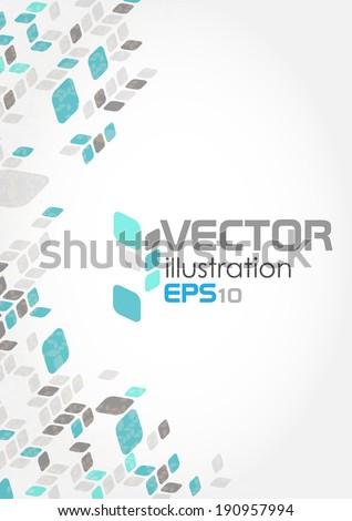 Simple Geometric Pattern. Vector Illustration. Eps 10 - stock vector