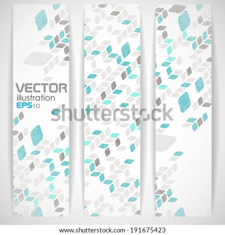 Simple Geometric Pattern. Vector Illustration. Eps 10
