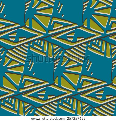 Simple geometrical background in a retro style. Vector illustration   - stock vector
